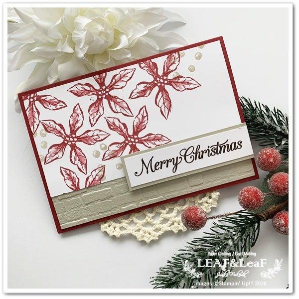 手作りカード クリスマス