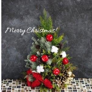 【募集/1Dayレッスン】Merry Christmas♪ドアに壁に、かけられるクリスマスツリーの画像