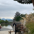 初秋の松本城