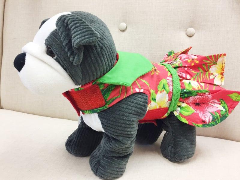 ハロウィンのコスチュームとして、おうちの中や、お散歩でもドレスアップできるハワイのペットウエアで決まり!