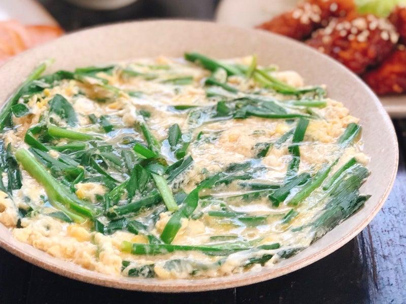 ニラ の 卵 とじ レシピ