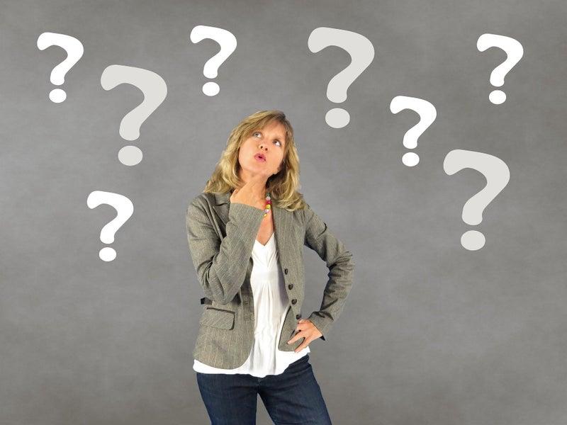 質問力を上げたい女性
