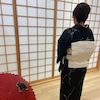 お着物で京セラ美術館への画像