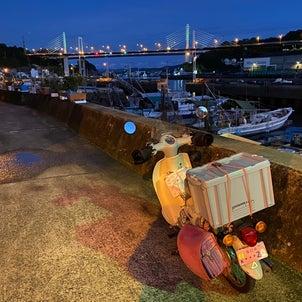 どこまで行けるかな?4泊5日ツーリング①岡山県浅口市出発~広島市街地の画像
