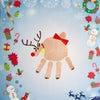 【12月の手形アート】手形アートでMerry Christmasの画像