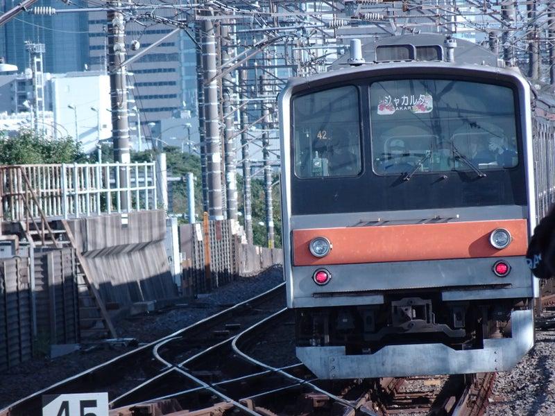鉄道 新習志野駅 205系 配給 2020 1021 01