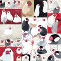 今日は「文鳥の日」! 記念グッズ作りました!