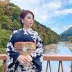 銀座ママ本日のお着物 全国パワースポット巡り栃木・日光編