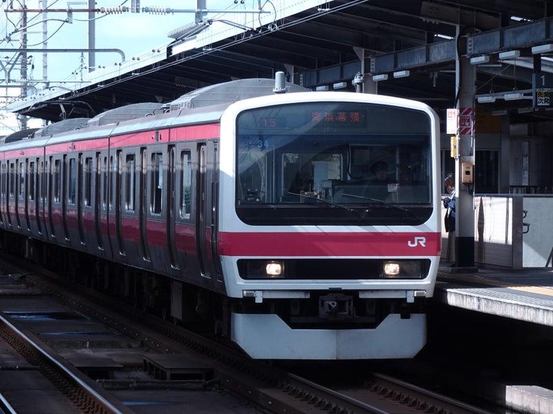 鉄道 新習志野駅 209系 2020 1021 04