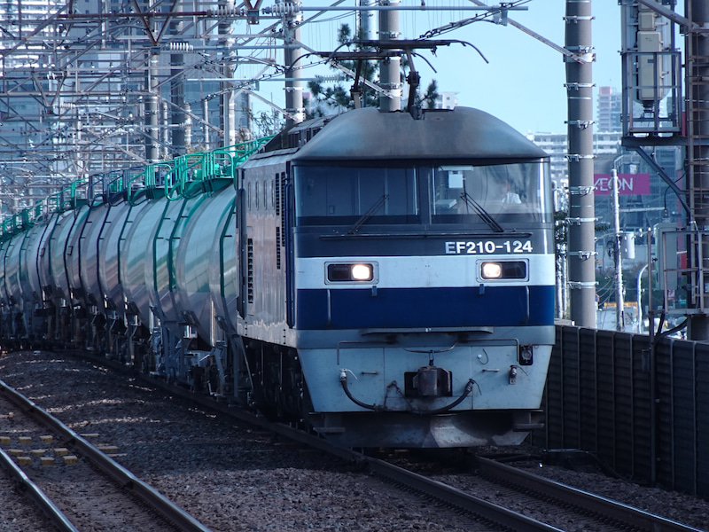 JR貨物 新習志野駅 EF210型 2020 1021 09