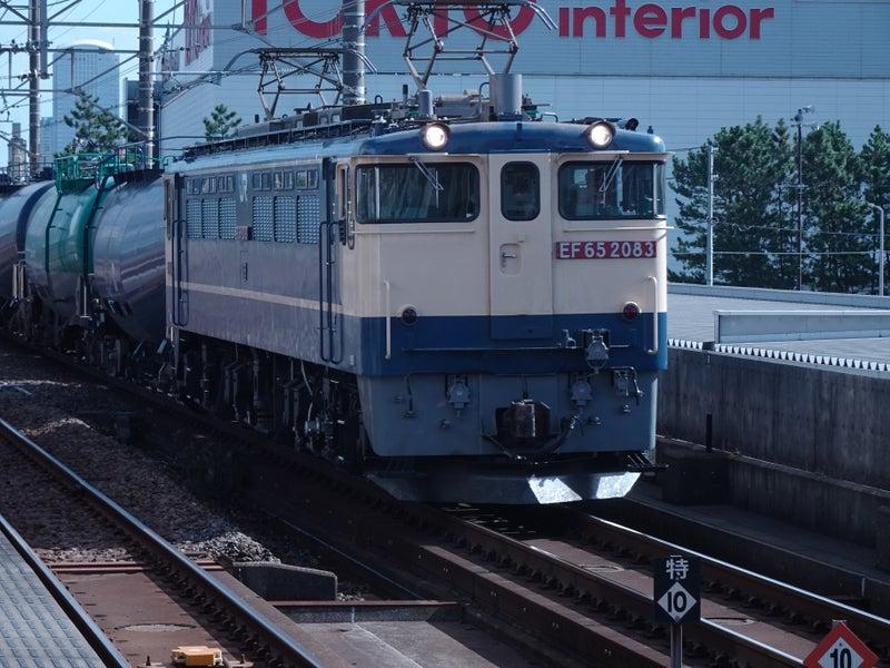 JR貨物 新習志野駅 EF65型 2020 1021 03