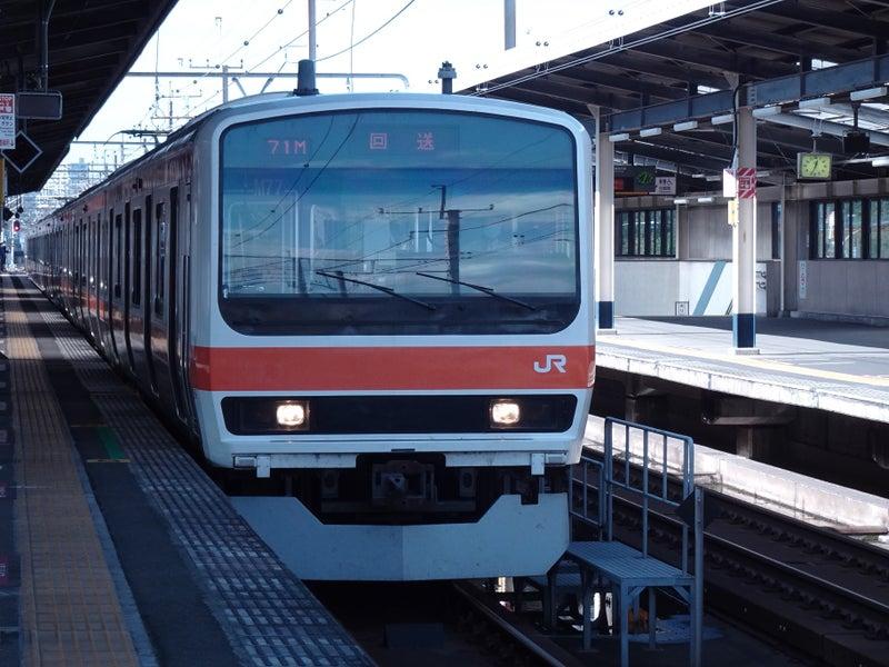 鉄道 新習志野駅 209系 2020 1021 02