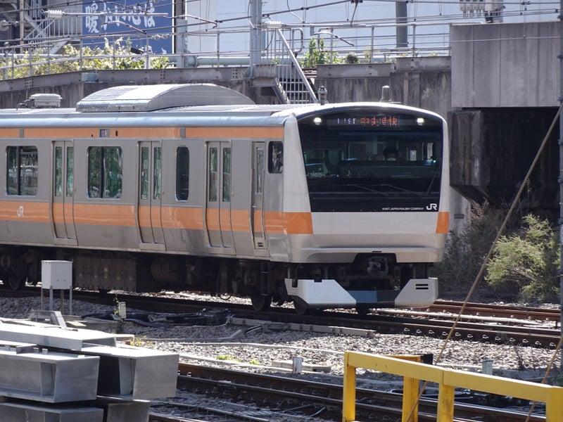 鉄道 新宿駅 E233系 2020 1024 02