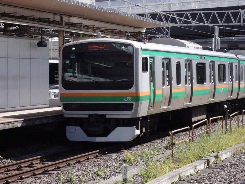 鉄道 新宿駅 E231系 2020 1024 01