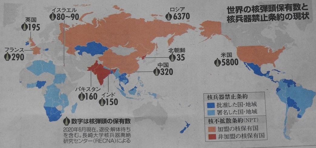 核兵器 禁止 条約