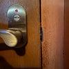 トイレの扉が開かなくなった レバーハンドル錠 TOMFUへ取替 富山の鍵屋の画像