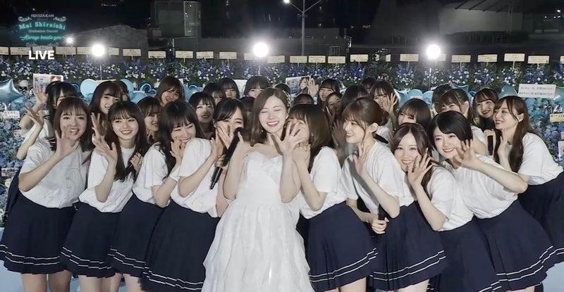 まい やん 卒業 コンサート 乃木坂46 白石麻衣 卒業コンサート セットリスト