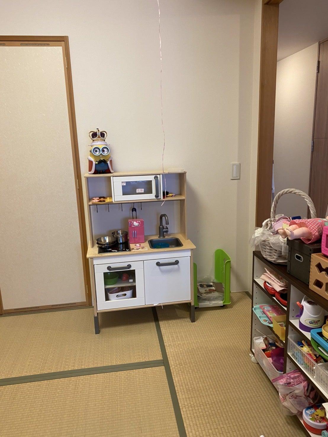 お子様のおもちゃスペース、改善しました