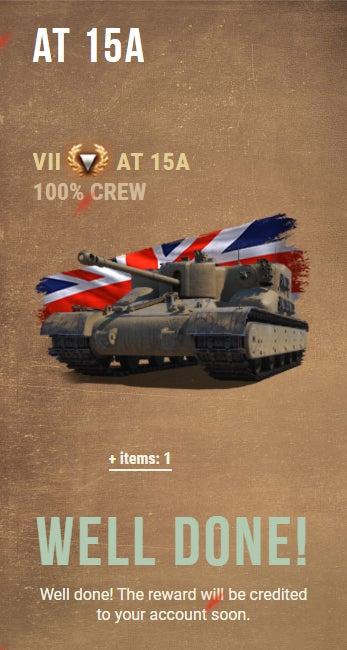 報酬 戦車 世界大戦モード報酬兵器:M60 AMBT&IL