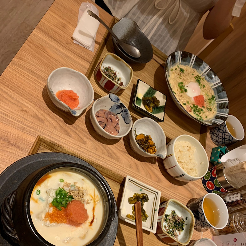 東京 たらこ スパゲティ メニュー