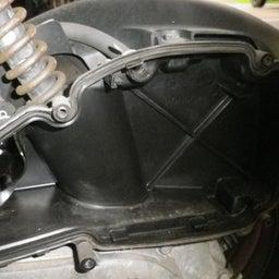 画像 ホンダ ズーマ AF58 点検 オイル交換 プラグ交換 エアクリ交換 バイク 修理 名古屋市港区 の記事より 6つ目