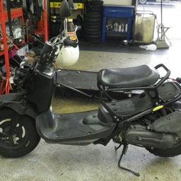 画像 ホンダ ズーマ AF58 点検 オイル交換 プラグ交換 エアクリ交換 バイク 修理 名古屋市港区 の記事より 1つ目