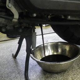 画像 ホンダ ズーマ AF58 点検 オイル交換 プラグ交換 エアクリ交換 バイク 修理 名古屋市港区 の記事より 2つ目
