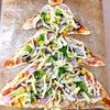 【内容】12/13「親子deクッキング」Xmasツリーピザの画像