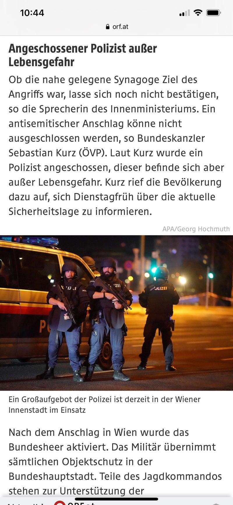 ウィーン テロ