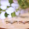 優しさ、温かみを感じるシンプルな結婚指輪の画像