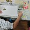 11月の授業・絵の具の画像
