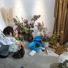 生花アートの着物撮影会の画像