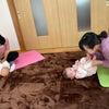 赤ちゃんの身体の使い方を実感の画像