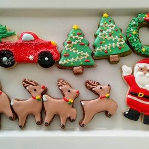 クリスマス☆アイシングクッキーの画像