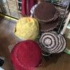 綺麗な手作り帽子の画像