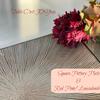 オンラインレッスン② 11月4日(水)…陶器角皿&赤ポム・リューカデンドロンの画像