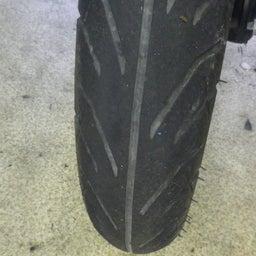 画像 スズキ アドレス110 CE47A タイヤ交換 タイヤパンク バイク 修理 名古屋市港区 の記事より 2つ目
