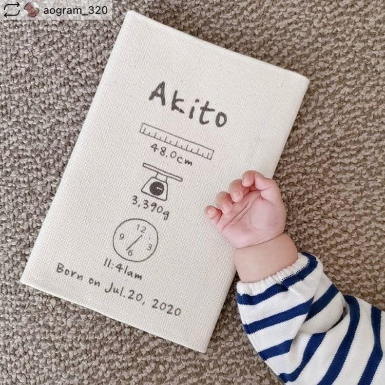 母子手帳ケースAkito