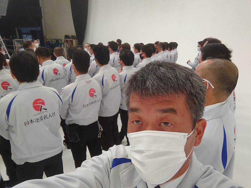 日本塗装名人社 全国版 CM撮影
