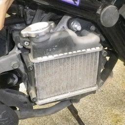 画像 ホンダ ズーマー AF58 リザーバータンク交換 冷却水交換 バイク 修理 名古屋市港区 の記事より 2つ目