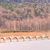 晩秋の幻の橋「タウシュベツ橋梁」の画像