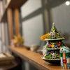 クリスマスの飾りつけの画像
