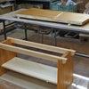 1点モノのケヤキのローテーブルの画像