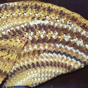 映画『ブラザー・サン シスター・ムーン』と落ち葉の絨毯ストールやり直しの画像