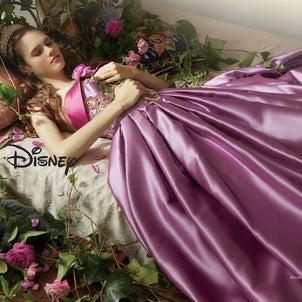 ディズニーウェディングドレス(オーロラ姫)の画像