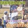 11/15 アフリカンリトミック&大人クラス神戸の画像