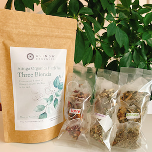 【新発売】Alinga Organicsハーブティーアソートパック『Three Brends』の画像