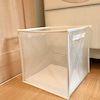 畳んで小さくなる洗濯籠でスッキリ!の画像