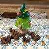 【描きかた】手型のクリスマスツリーの画像