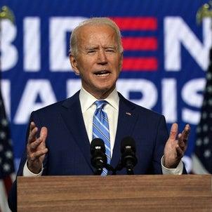 アメリカ大統領選挙 バイデン氏が当選確実の画像